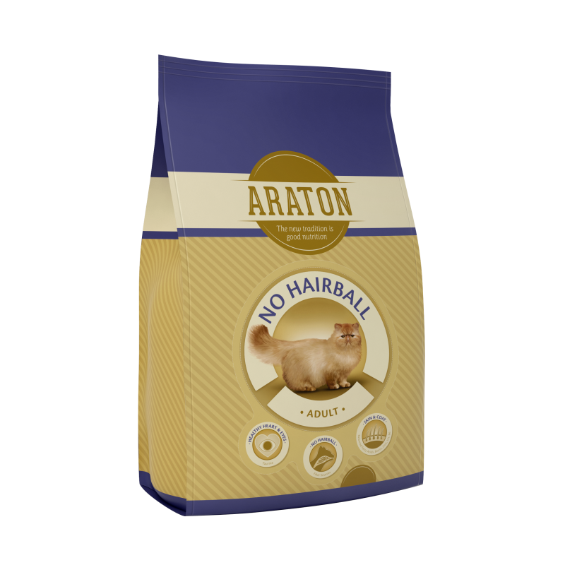 Araton Cat Adult No Hairball 15 Kg