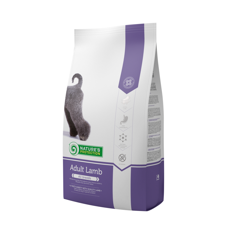 Natures Protection Dog Adult Lamb 500 G