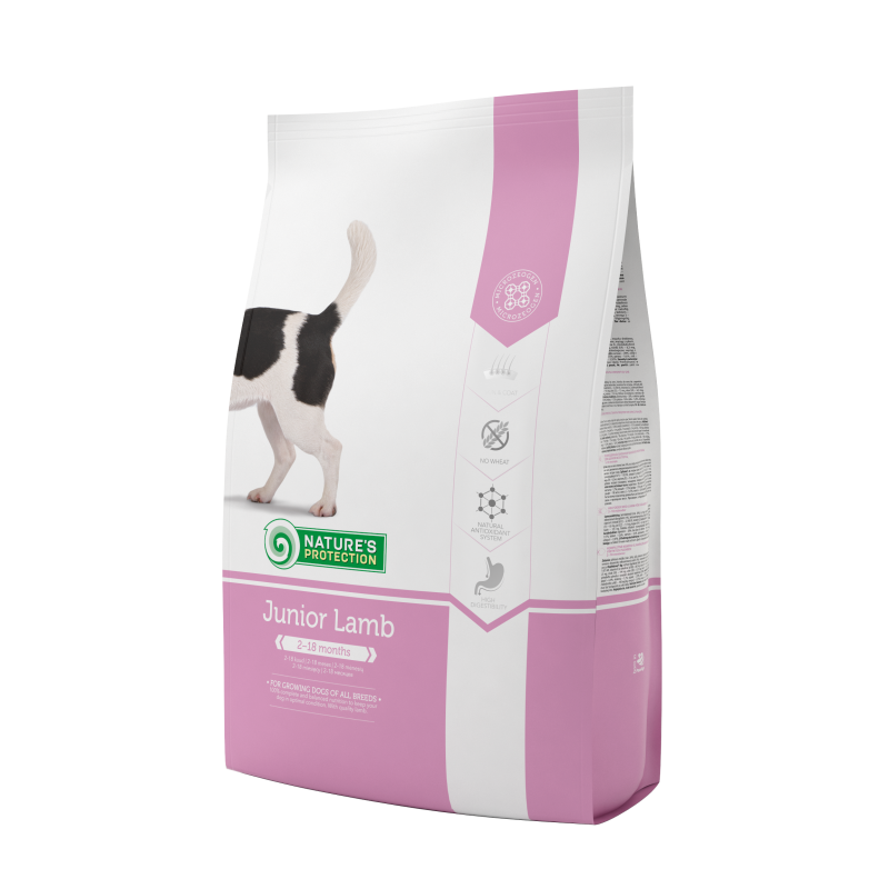 Natures Protection Dog Junior Lamb 7.5 Kg