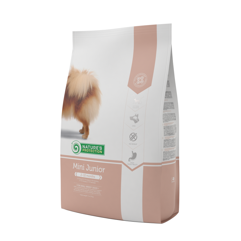 Natures Protection Dog Mini Junior 500 G